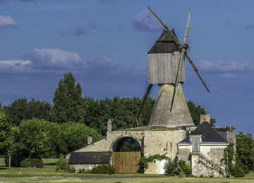 Photographie du moulin.