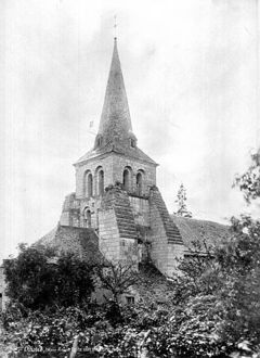 Photographie de l'église Saint-Julien.