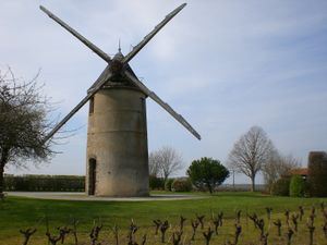 Photographie du moulin Guillou.