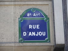 Noms des rues en photos