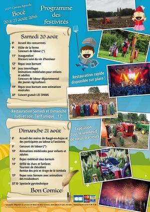 Calendrier Comice Agricole Sarthe 2019.Comice Agricole Du Canton De Bauge Wiki Anjou