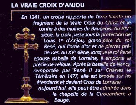 """Résultat de recherche d'images pour """"croix d'anjou"""""""